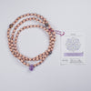 Amethyst & Tiger Iron Mala for Heal