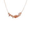 Sunstone Gemstone SEED necklace for Independence