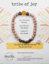 Yellow Jade Gemstone TRIBE of Joy Bracelet