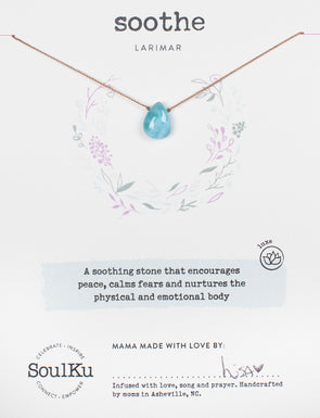 Larimar Luxe Necklace for Soothe