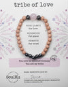 Rose Quartz Gemstone TRIBE of Love Bracelet