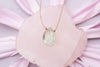 Green Amethyst Luxe Necklace for Heart Opener
