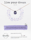 Iolite Gemstone Soul-Full of LOVE Necklace for Live Your Dream