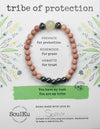Prehnite Gemstone TRIBE of Protection Bracelet