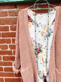 Sweetheart Sweater : Matte Blush