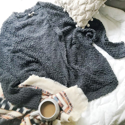 Let's Cuddle Wubby Sweater : Grey Skies