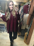 Fireside Sweater : Wine