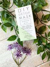 Load image into Gallery viewer, DIY Detox Mask : Macha Mint