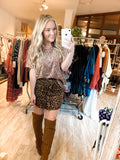 Little Leopard Skirt