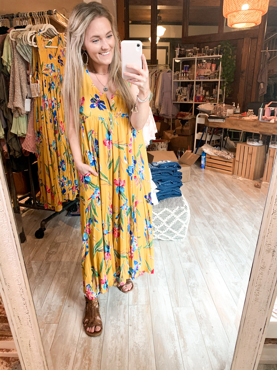 The Mumu Jumper : Golden Sunshine