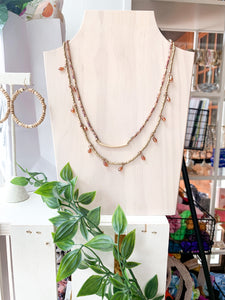 Desert Nights Layered Necklace