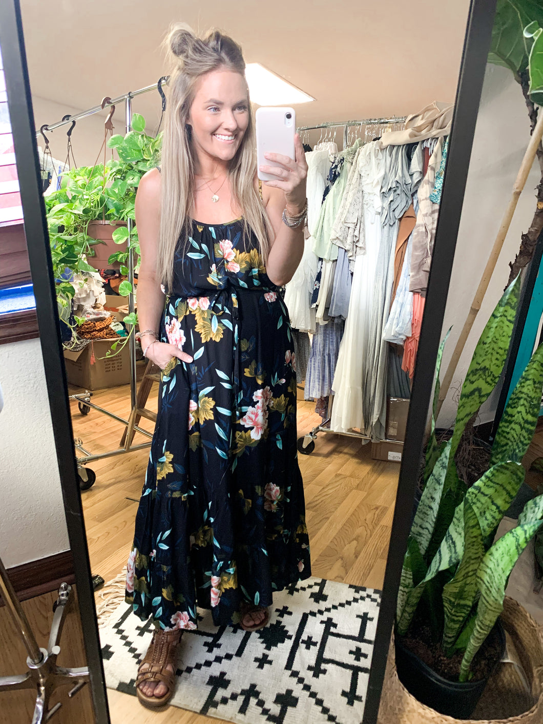 Water Lily Maxi