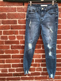 Page Distressed Denim