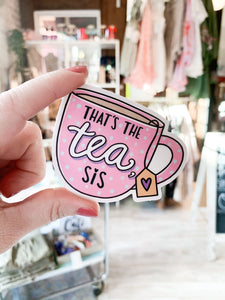 Stick It Anywhere : The Tea