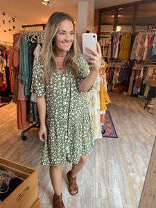 Olive You Swing Dress
