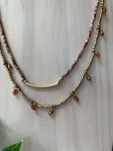 Load image into Gallery viewer, Desert Nights Layered Necklace