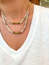 Load image into Gallery viewer, Golden Phoenix Necklace : Blue Skies