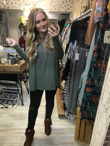 PIKO Top : Olive