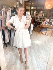 Sweet Lizzy Dress : Cream