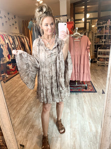 Wildest Dreams Snakeskin Tunic
