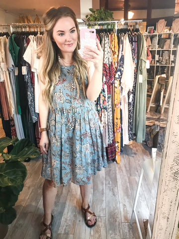 Lost Branches Halter Dress