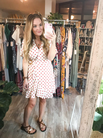 Dots & Ruffles Dress