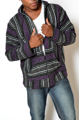 NEW! Purple Zip For Men