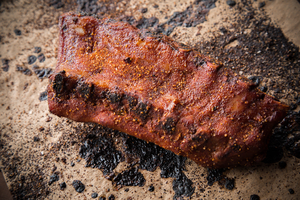 Smokerless Smoked Ribs)
