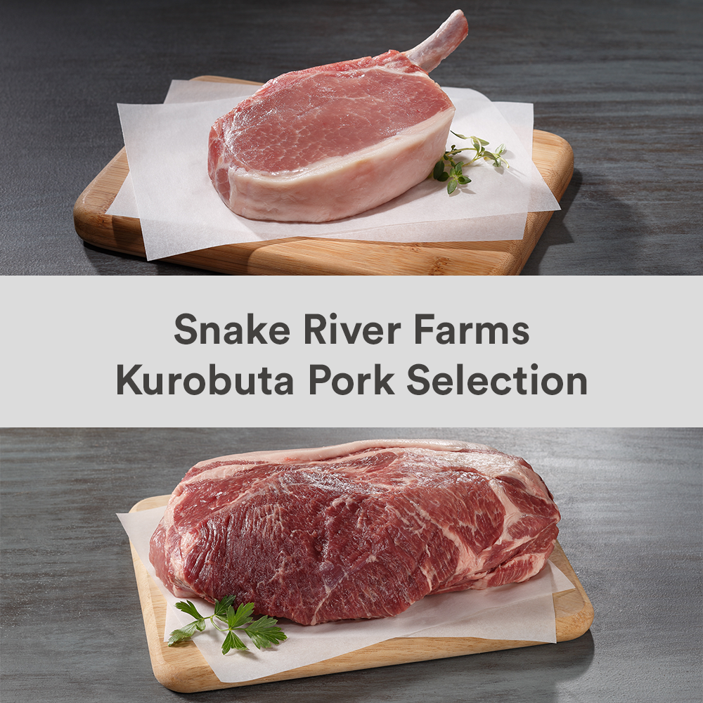 Snake River Farms Kurobuta Pork Selection)