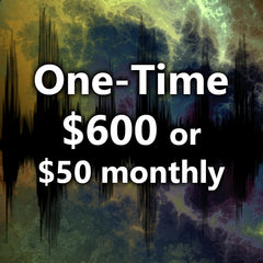 Choose either a one time $600 or on-going $50 Monthly Payment