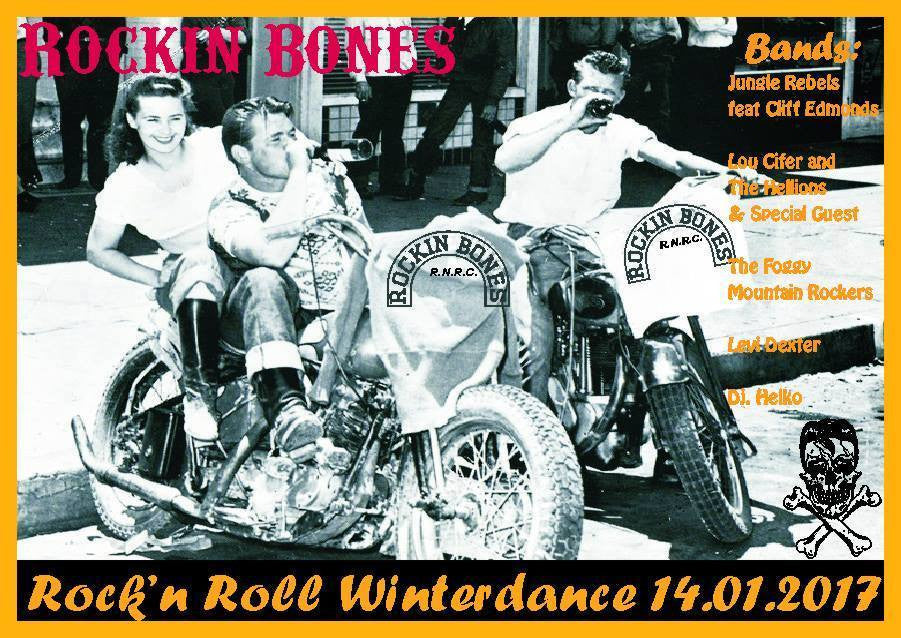 Bernie's Birthday In Germany & Rockin Bones Teddy boy night in Memory of friend Stefan Pfeifer