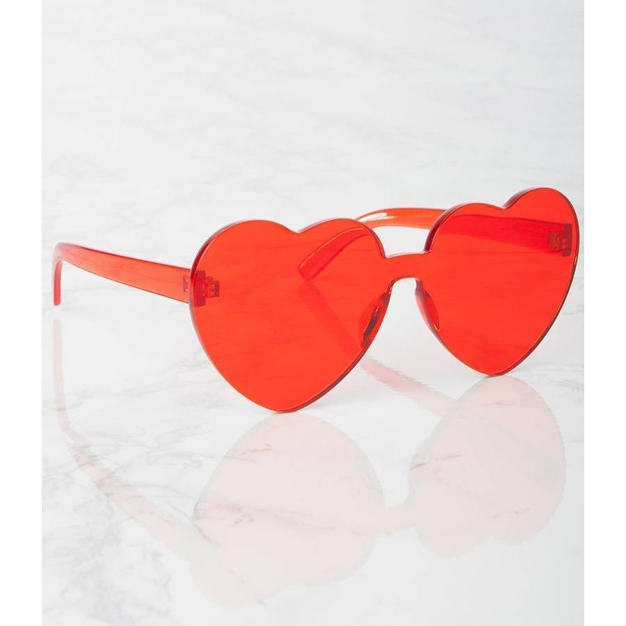 Heart to Heart ❤️ 💜 💛 Sunglasses - Bernie Dexter