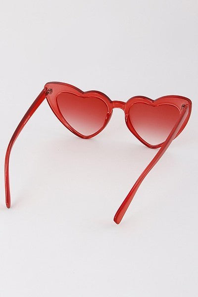 Clearly in Love Heart Shaped Sunglasses - Bernie Dexter