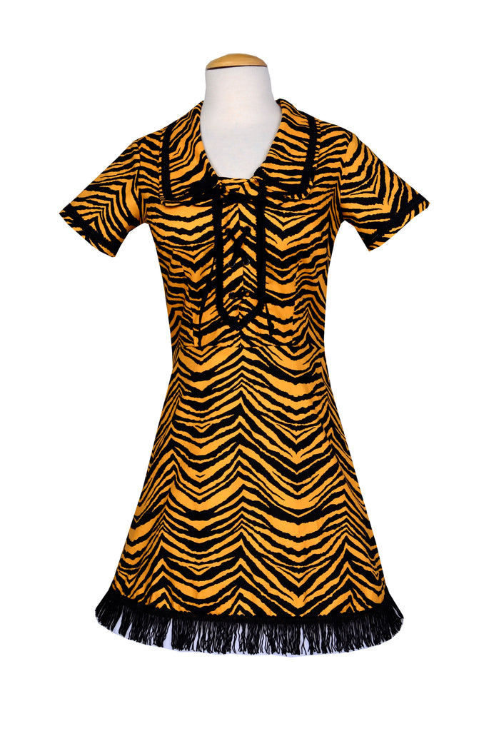 Nashville Boogie Dress in Jungle Tiger