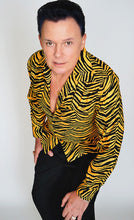 Men's Long Sleeve Shirt in Jungle Tiger print - Bernie Dexter