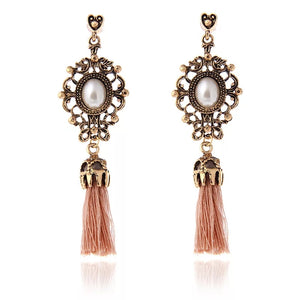 Rose Gold Tassels-Bijoux Exclusive-Bijoux Exclusive
