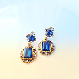 Royal Style Earrings-Bijoux Exclusive-Bijoux Exclusive