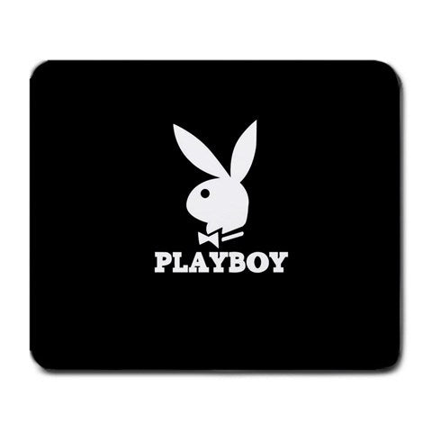 Playboy Black Mouse Pad