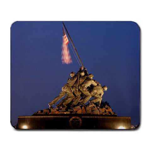 USMC War Memorial Mouse Pad