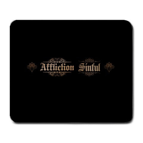 Affliction Sinful Black Mouse Pad