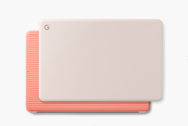 Google Pixelbook Go (i5, 16 GB RAM, 128 GB) Not Pink + Ipearl Mcover Hardcase Orange New Sealed