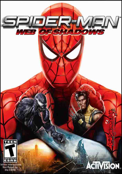 Spider-Man: Web of Shadows PC Download Windows Computer Game