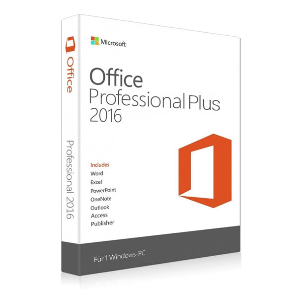 Microsoft Office 2016 Professional Plus for Windows 2 PC Latest Updates