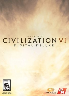 Sid Meier's Civilization VI Deluxe Edition Steam Key Gift Code PC Download Windows Computer Game