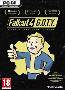 Fallout 4 GOTY Edition Steam Key Code PC Download Windows Computer Game
