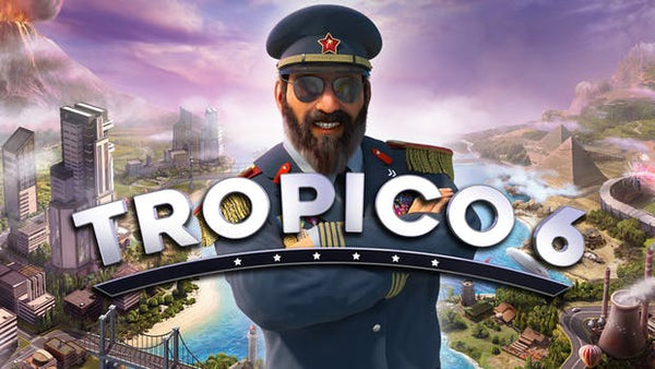 Tropico 6 Steam Key Code PC Download Windows Computer Game