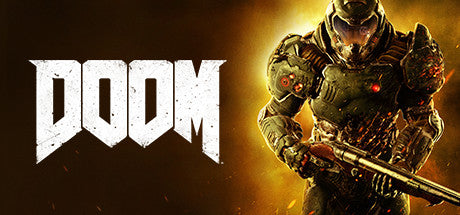 Doom 2016 Steam Key Code PC Download Windows Computer Game