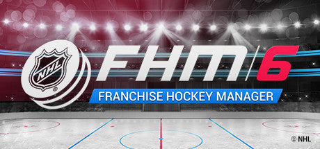 Franchise Hockey Manager 6 Steam Key Gift Code PC Download Windows Computer Game