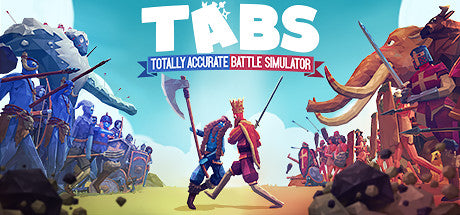 Totally Accurate Battle Simulator TABS Steam Key Gift Code PC & MAC OS Download Windows Computer Game