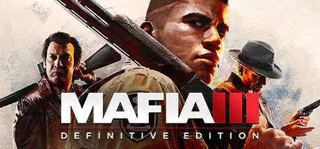 Mafia III: Definitive Edition Steam Key Gift Code PC Download Windows Computer Game